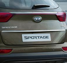 Накладка хромована на кришку багажника Sportage