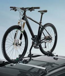 Багажник для велосипеда, максимальне навантаження 20кг.