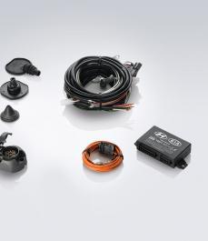 Проводка для фаркопа (для а/м з комплектом причепного пристрою, 7-контактний)
