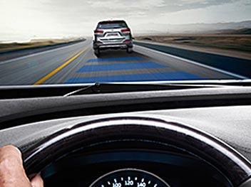 Система попередження про з'їзд зі смуги руху